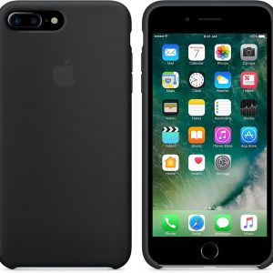 Apple Siliconen Back Cover voor iPhone 7 Plus / iPhone 8 Plus - Zwart
