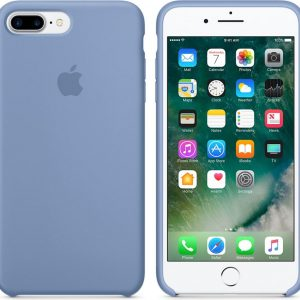 Apple Siliconen Back Cover voor iPhone 7/8 Plus - Azuurblauw