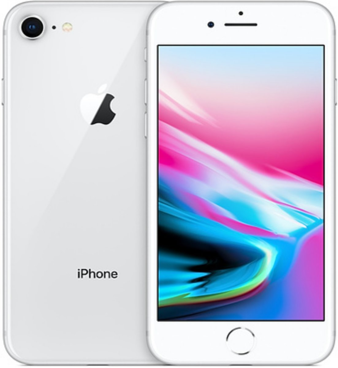 Apple iPhone 8 - 64 GB - Zilver - Mr.@ Remarketed