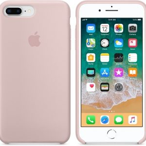 Apple Siliconen Back Cover voor iPhone 7/8 Plus - Pink Sand