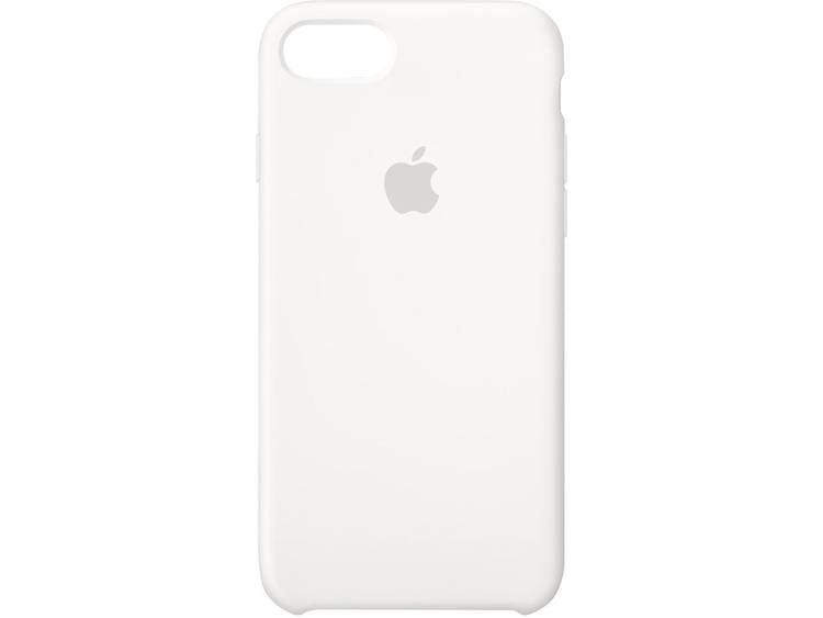 Apple Silicone Case Backcover Apple iPhone 8, iPhone 7 Wit