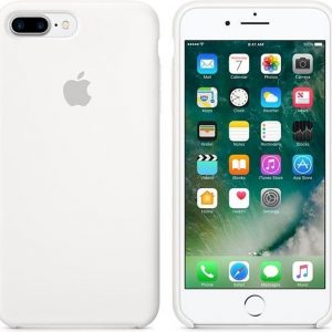 Apple Siliconen Back Cover voor iPhone 7/8 Plus - Wit