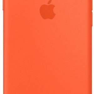 Apple Silicone Backcover iPhone SE (2020) / 8 / 7 hoesje - Spicy Orange
